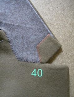 The Great Coat Sew-Along: Shaping the Lapels and Collar: a tutorial from Paco Peralta