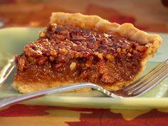 salted carmel pecan pie : Food Network