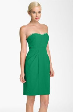 BCBGMAXAZRIA Sweetheart Neckline Crepe Sheath Dress available at #Nordstrom