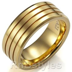 Google Image Result for http://homejewelry.info/wp-content/uploads/2011/05/Stunning-Mens-Wedding-Ring-9mm-Tungsten-Band-Gold-main.jpg