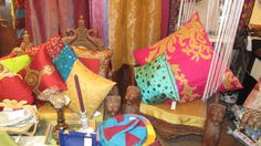 sari cushion cover for add ethnic touch to home interior