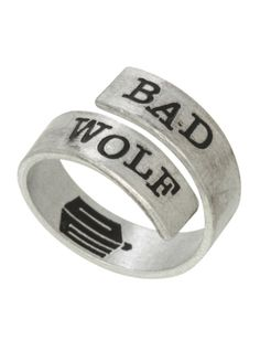 Doctor Who Bad Wolf Wrap Ring | Hot Topic