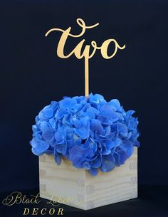 Wedding Laser Cut Table Numbers - Bridal Shower Table Numbers - Party Table Numbers - Unpainted DIY