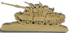 tank puzzle  http://www.craftypuzzles.com/jigsaw_puzzles.htm