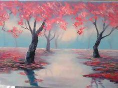 Как нарисовать пейзаж. Мастер-класс живописи