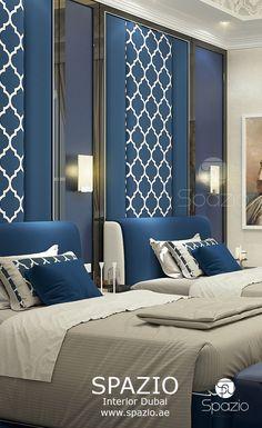 Spazio Interior Decoration LLC is one of TOP interior design companies in Dubai, UAE. Modern Bedroom, Interior Design, Hotel Room Design, Bedroom Layouts, Luxury Interior, Room Design, Luxurious Bedrooms, Modern Bedroom Design, Home Bedroom