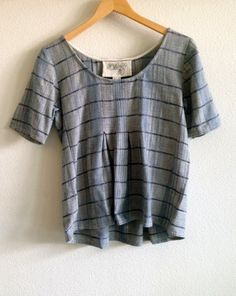 ace&jig fall13 shop tee in indigo twist at busy being