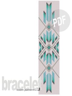 This bracelet loom pattern is inspired by Native American style and the blue of the sky. The bracelet made according to this design will be perfect for denim outfits. Loom Bracelet Patterns, Loom Patterns, Jewelry Patterns, Seed Bead Bracelets Diy, Colorful Bracelets, Diy Jewelry Etsy, Denim Outfits, Loom Beading, Seed Beads