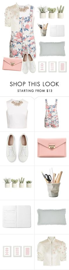 """""""Dress Up"""" by ciaobellaciao ❤ liked on Polyvore featuring Ted Baker, Mint Velvet, Allstate Floral, ESSEY, Pine Cone Hill and Reem Acra"""