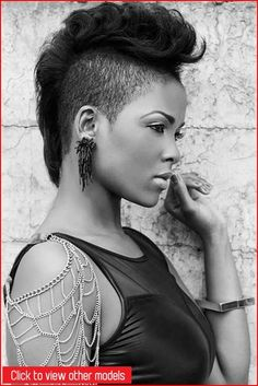 Best Mohawk hairstyles #hair #shorthairstyles #hairstyles #haircuts