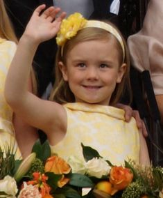 Her Royal Highness Princess Ariane of the Netherlands, Princess of Orange-Nassau.  Princess Ariane Wilhelmina Máxima Inés; born 10 April 2007, is the third and youngest daughter of King Willem-Alexander and Queen Máxima.