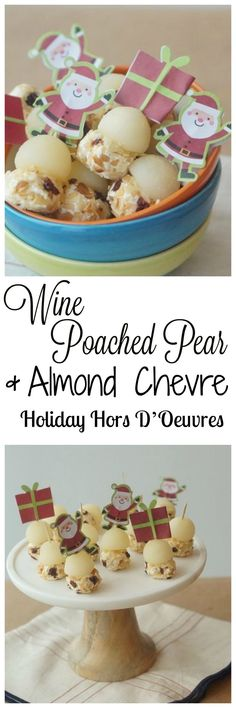 Make my delicious and easy Wine Poached Pear & Almond Ch..