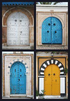 Sidi Bou Said, Tunisia by Framed_Photography, via Flickr