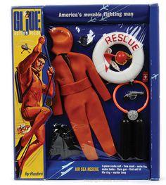 GI Joe Action Pilot - Air Sea Rescue Scuba Diver