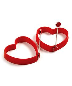 Love this Heart Pancake/Egg Ring - Set of Two on #zulily! #zulilyfinds