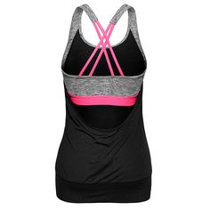 HM Yoga Tank Top with Sports Bra - Workout Clothes: HM Sport 2015 Winter Collection - Shape Magazine Workout Attire, Workout Wear, Workout Tops, Workout Outfits, Gym Style, Mode Style, Yoga Workout Clothes, Workout Clothing, Fitness Clothing