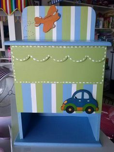 Decoupage, Baby Deco, Kit Bebe, Baby Birth, Baby Room, Toy Chest, Crafts For Kids, Projects To Try, Nursery