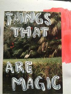 @dansmoncrane   Magic   Messy Lists   Get Messy Art Journal