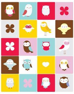 owl print ♥