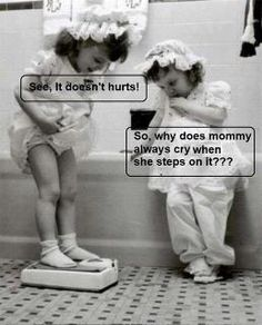 See, it doesn't hurts! So, why does mommy always cries when she steps on it???