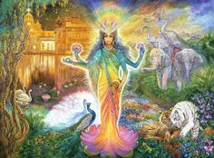 Lakshmi By Josephine Wall