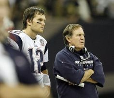 Bill Belichick & Tom Brady - Sporting Greats & inspirational leaders