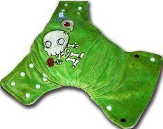 Skeleton Zombie Medium OBV BedBug Plus Cloth by HoldensLanding