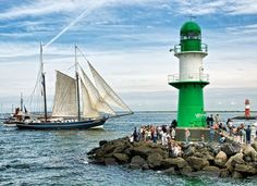 Rostock #germany Dresden, Hanse Sail, Sweet Memories, Sailing Ships, Red And White, Germany, Around The Worlds, Boat, Lighthouses