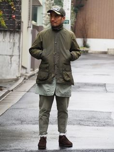 Barbour - waxed is better