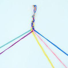 Let's Make Friendship Bracelets! Let's Make Friendship Bracelets! — CraftJam More from my site Kids' craft: How to make a friendship bracelet How to make friendship bracelets ? How To Make Alphabet Friendship Bracelets DIY Pura Vida-Inspired Bracelets Yarn Bracelets, Diy Bracelets Easy, Summer Bracelets, Bracelet Crafts, Braided Bracelets, Ankle Bracelets, Gold Bracelets, Gold Earrings, How To Make Braclets