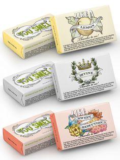 You Smell Soap- Lemon Verbena, Divine, and Sweet Seduction