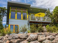 New Modern Home With Stunning Water View. This delightful new home located in Eastsound on Orcas Island just celebrated its third-year anniversary. Modern, ...