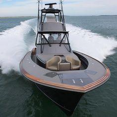 Meet Grander the new 46 by @jarrettbay. More photos at FishTrack.com #boatporn #landsucks #jarrettbay Marine Weather, Sport Fishing Boats, Bay Boats, Offshore Fishing, Boat Plans, Boat Building, Boating, More Photos, Consoles