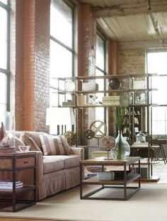 ComfyDwelling.com » Blog Archive » 27 Industrial Living Room Designs That  Inspire