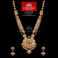 Beauty of Kundans with Pearls Antique Jewellery Designs, Gold Earrings Designs, Gold Jewellery Design, Gold Designs, Antique Jewelry, Gold Temple Jewellery, Gold Jewelry, Gold Necklaces, Pearl Jewelry