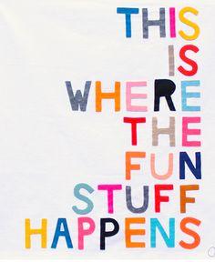 Art Picks: Typography - Rachel Castle via Liz Lidgett
