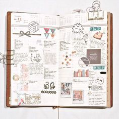Last week in my Midori Traveler's notebook. As usual I've decorated using stamps (some from @_sakuralala_), stickers, washi, and some doodling.