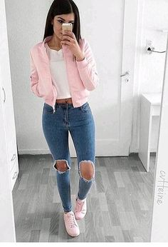 Birthday Outfit Ideas For School Pictures pin on street style Birthday Outfit Ideas For School. Here is Birthday Outfit Ideas For School Pictures for you. Birthday Outfit Ideas For School birthday outfit ideas fo. Mode Outfits, Jean Outfits, Outfits For Teens, Trendy Outfits, Dress Outfits, Birthday Outfit For Teens, Dress Ootd, Popular Outfits, Teen Fashion