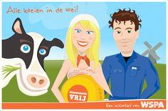 Binnenmelkvrij: Alle koeien in de wei!