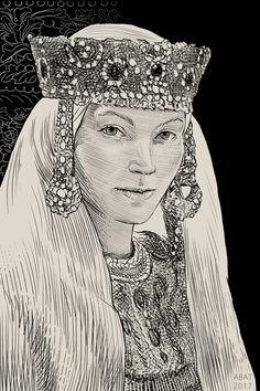 #Russian #Princess  #Comic #Art #ink #pen #pencil #Draw #Girl