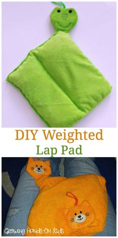 Sew Weighted Blanket Weighted Blankets DIY : How to make a DIY weighted lap pad for sensory seeking kids. - Weighted Blankets DIY : How to make a DIY weighted lap pad for sensory seeking kids. Diy Sensory Toys, Sensory Tools, Autism Sensory, Sensory Therapy, Sensory Bins, Sensory Boards, Sensory Activities, Sensory Play, Diy Toys