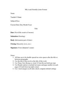 cover letter format mla apa examples essay with - How Do You Format A Cover Letter