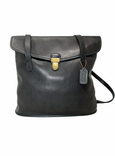 Your place to buy and sell all things handmade Vintage Purses, Vintage Coach, Coach Tote, Coach Purses, Cheap Coach Bags, Hobo Style, Black Gloves, Coach Shoulder Bag, Dark Navy Blue
