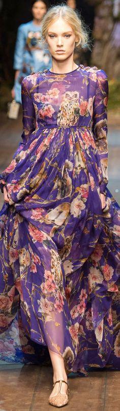 Dolce & Gabbana FW 2014 RTW