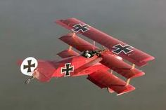 The Red barons fokker triplane, where is Snoopy when you need him?
