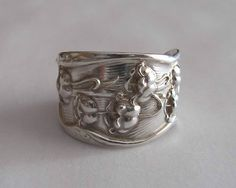 Lily of the Valley Sterling  Ring