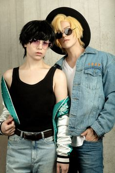ash x eiji cosplay Anime Cosplay, Epic Cosplay, Cute Cosplay, Cosplay Makeup, Amazing Cosplay, Cosplay Outfits, Cosplay Costumes, Yuri, Vocaloid