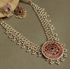 Gold And Silver Dealer Delhi Gold Jewellery Design, Bead Jewellery, Gold Jewelry, Beaded Jewelry, 80s Jewelry, Jewelry Scale, Jewelry Sets, Pearl Necklace Designs, Gold Necklace