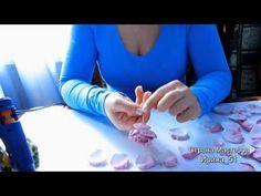 Видео МК: Роза из фоамирана. | Страна Мастеров
