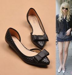 Find More Women's Pumps Information about Hot Sale 2014 women's braided leather with bowtie high heels,designer low heeled comfortable work pumps shoes 35 41,High Quality leather shoes wholesalers,China shoe bag leather Suppliers, Cheap shoe lace leather from Toptrade Co.,ltd on Aliexpress.com